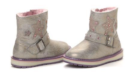 Geox dívčí zimní kotníčková obuv 32 šedá  c773158b80
