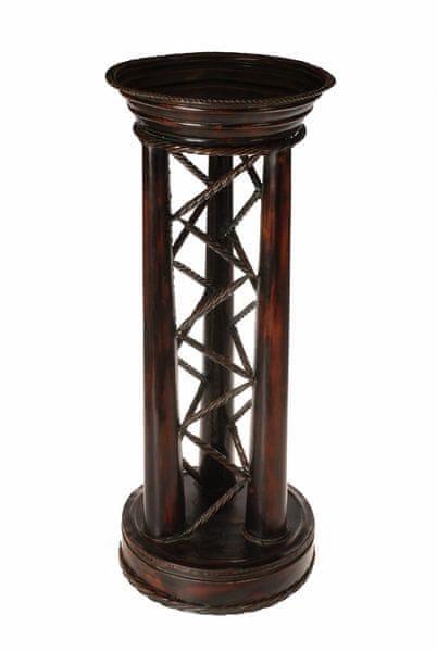 EverGreen Stolek květinový kovový Faros výška 77cm