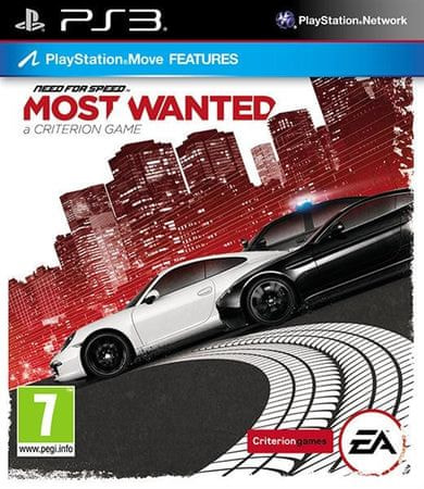 EA Games Need For Speed Most Wanted,Ps3