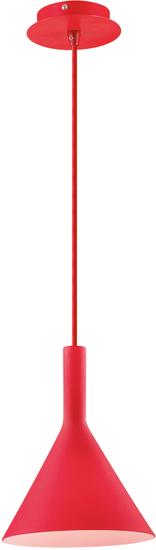 Ideal Lux Závěsné svítidlo COCKTAIL SP1 červená - rozbaleno