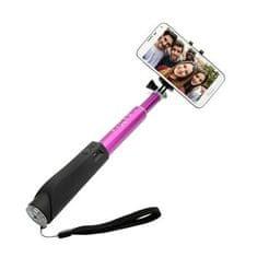 Fixed selfie držák v hliníkovém provedení, růžový
