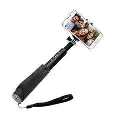 Fixed selfie držák v hliníkovém provedení, černý