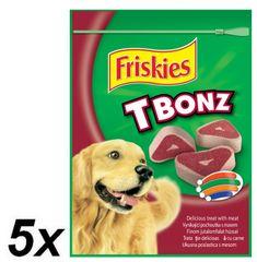Friskies T-Bonz Jutalomfalatok 5 x 150 g