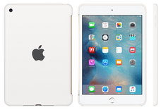 Apple silikonski ovitek za iPad mini 4, bel