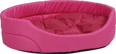 Argi ovalno ležišče za pse, roza, S