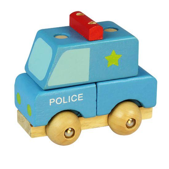 Marionette Sada autíček 5ks, dřevěná