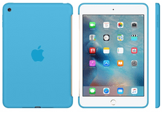 Apple silikonski ovitek za iPad mini 4, moder