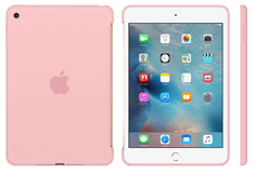 Apple silikonski ovitek za iPad mini 4, roza