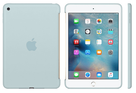 Apple silikonski ovitek za iPad mini 4, turkizen