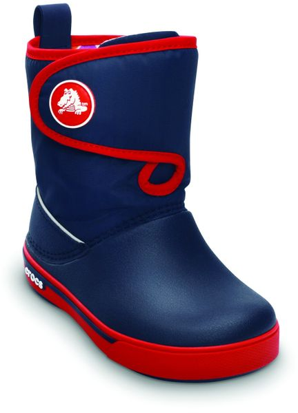 Crocs Crocband 2.5 Gust Boot Kids - Navy/Red 28-29 (C11)