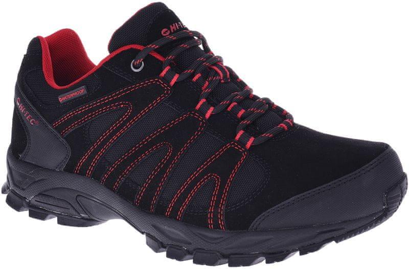 Hi-Tec Alto Wp Black/Black/Red 44