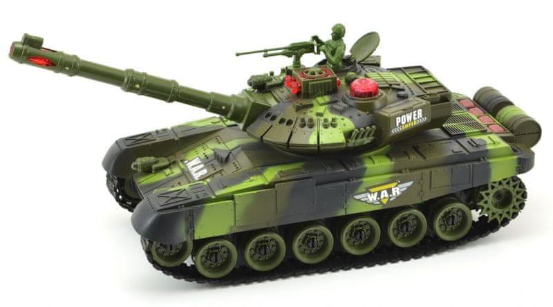Teddies Tank RC plast 25cm