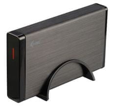 "I-TEC MYSAFE Advanced BLACK 3,5"" USB 3.0 Aluminium"