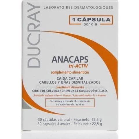 DUCRAY Anacaps TRI active cps.30 doplněk stravy