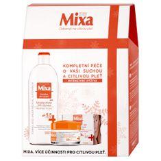 Mixa vyživující péče pro suchou a citlivou pleť+bohatý výživný krém 50ml+micelární voda 400ml