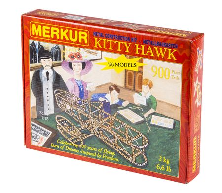 Merkur Zestaw konstrukcyjny Kitty Hawk 100 modeli 900 el.