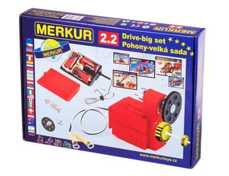 Merkur Modele RC Kit, 2,2 napędy i transmisji