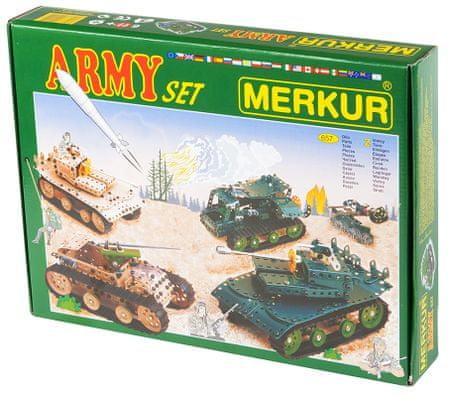 Merkur Army Építőkészlet, Fém