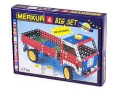 Merkur Stavebnice 4 40 modelů 602ks
