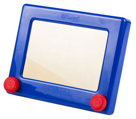 Seva Grafo mágneses rajztábla, Kék