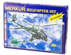 Merkur Helikopter Set 40 modelů 515ks