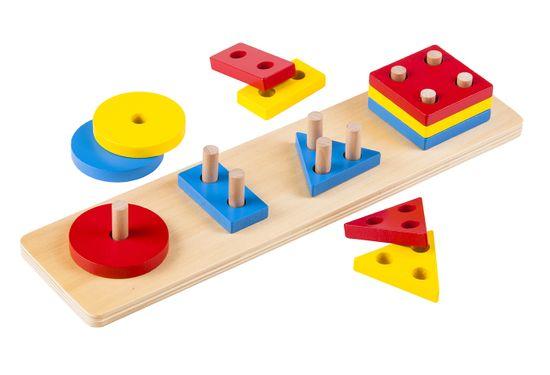 Montessori Színes geometriai formák