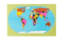 Montessori Svet - mapa s vlajkami na stojančeku