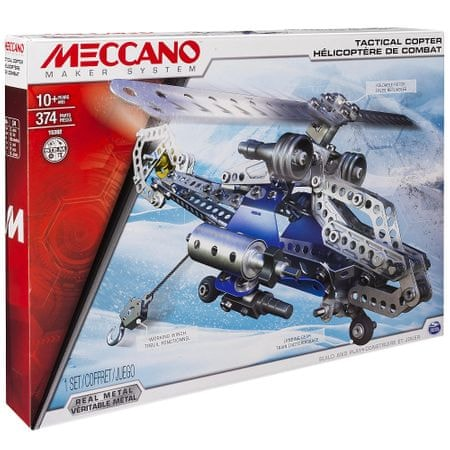 Meccano Taktická helikoptéra