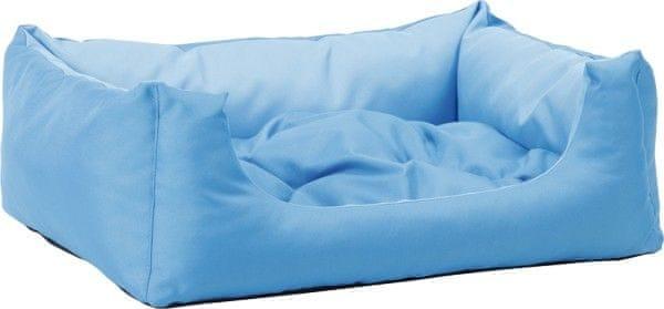 Argi pelech obdélníkový s polštářem Modrý vel. XL