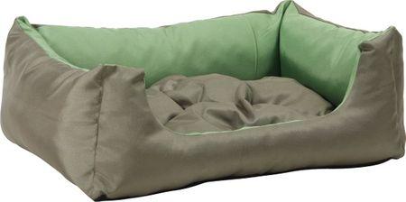 Argi prostokątne legowisko z poduszką, zielone, rozm. XXL