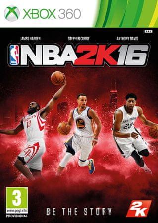 Take 2 Nba 2K16, Xbox 360