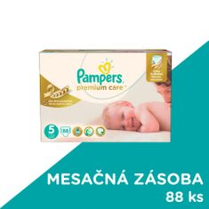 Pampers Premium Care 5 (Junior) 11-18 Kg - 88 ks