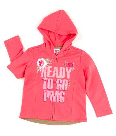 Primigi lány pulóver 140 lazac