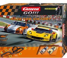 CARRERA Autodráha GO Race for Victory