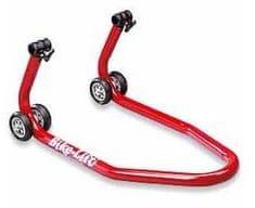 Bike lift dvigalka prednjega kolesa, rdeča