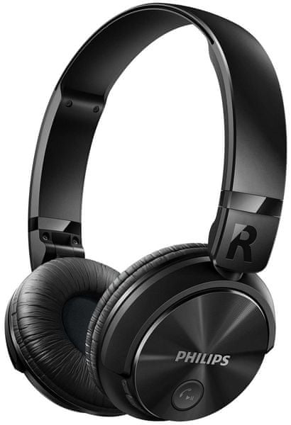 Philips SHB3060BK, černá
