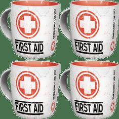 Postershop Zestaw kubków First AID 4 szt