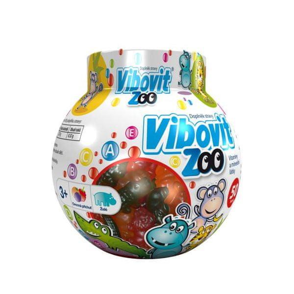 Vibovit ZOO 50 bonbonů