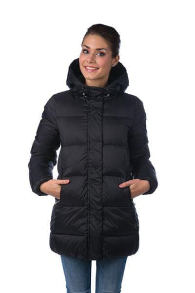 Gant dámský péřový kabát XS černá