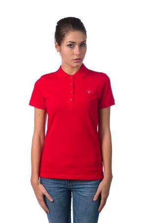 35d63f7fa1 Gant női galléros póló L piros | MALL.HU