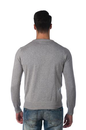 04094f7b092 Gant moderní pánský svetr XXXL světle šedá