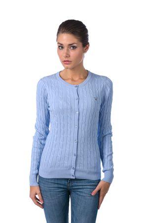 Gant dámský svetr na knoflíčky S modrá