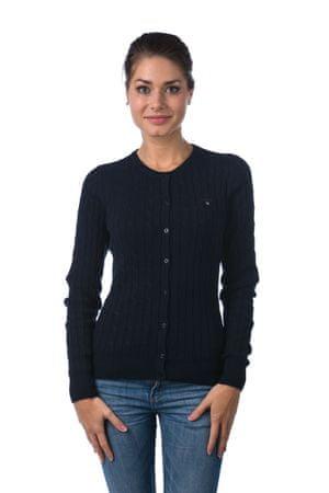 Gant dámský svetr na knoflíčky S tmavě modrá