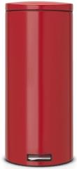 Brabantia Pedálový koš Silent 30 L, červená