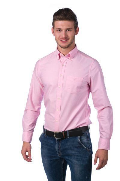 Gant pánská košile s kapsičkou XXXL růžová
