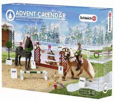 Schleich Adventný kalendár 2015 - Kone