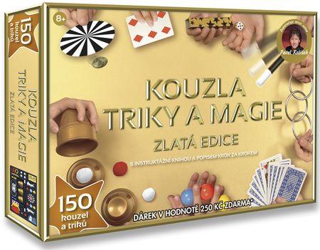 HMStudio Kúzla, triky a mágia - Zlatá edícia