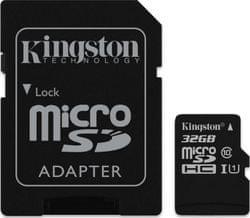 Kingston microSDHC 32GB UHS-1 (SDC10G2/32GB) Memóriakártya + adapter