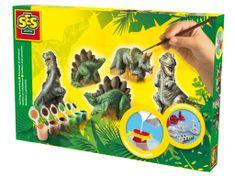 SES Sadrový trojkomplet - dinosaury