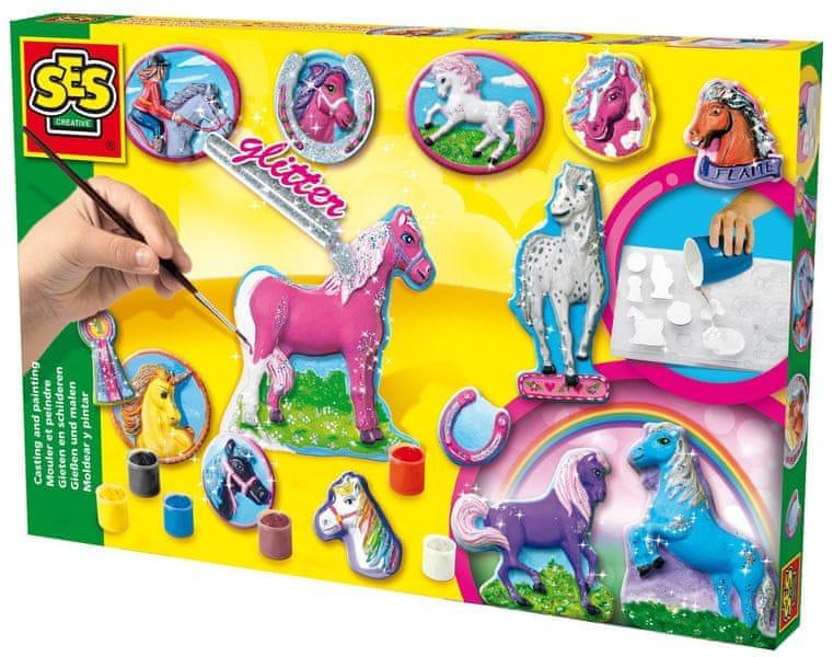 SES Odlévání a malování koní